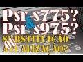 Psr s775 e Psr s975   Substitui    o ou Atualiza    o