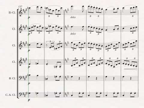 Beethoven 7 Clarinet Choir