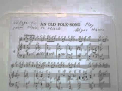 GHANTHO .Music Archive An old Folk Song Klasic music play Alyas Hanna ...