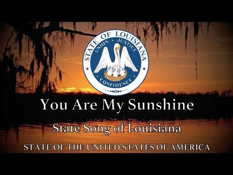 USA State Song: Louisiana - You Are My Sunshine