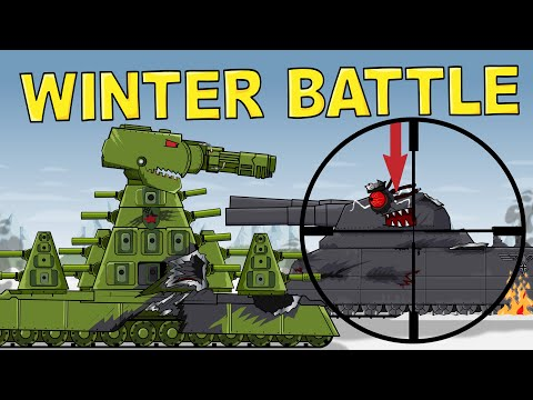 Winter Battle Of Giants - Cartoons About Tanks