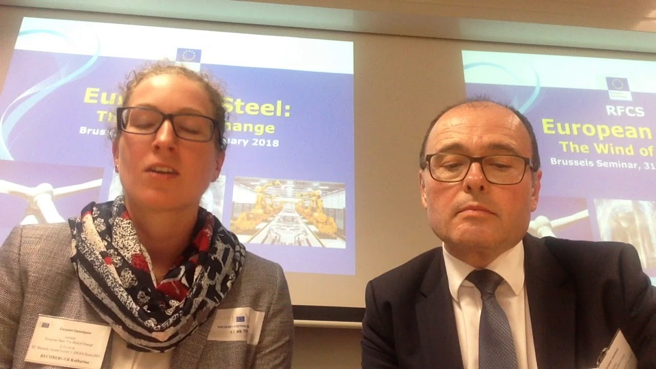 Klaus Metternich katharina rechberger international conference european steel the
