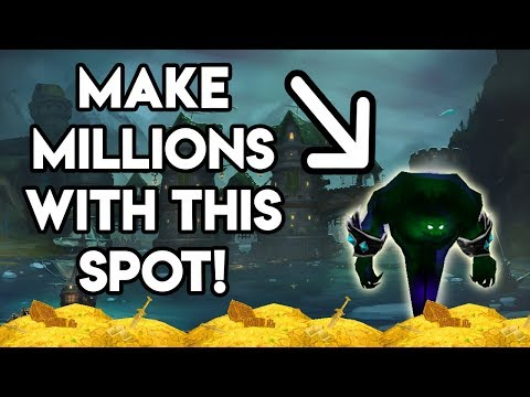 World Of Warcraft Gold Farm Make Millions With This Spot