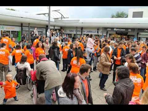 Flashmob APF/Fleury-les-Aubrais 2014