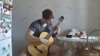 Вальс из к/ф Мой ласковый и нежный зверь на гитаре
