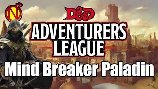 Adventurers League Bard Paladin Multiclass 5E D&D Character Build