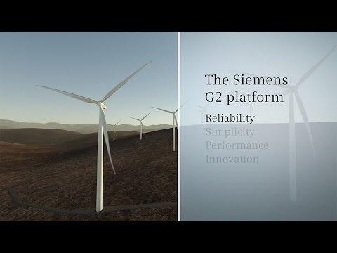 Siemens Wind Power G2 Platform Animation