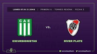 Excursionistas 0 - 3 River | #VamosLasPibas | Fútbol femenino