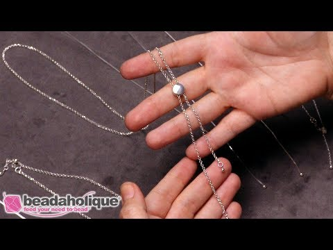 How to Make Delicate Jewelry with Sterling Silver Adjustable Chain and Charms