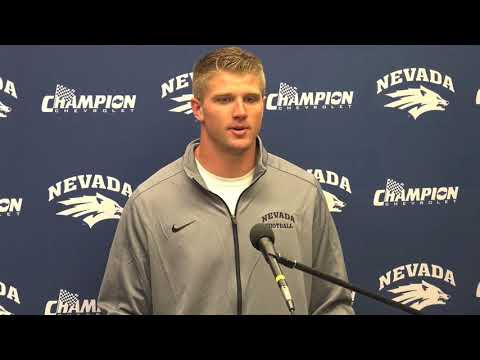 Nevada Football Post Game Press Conference | at Northwestern