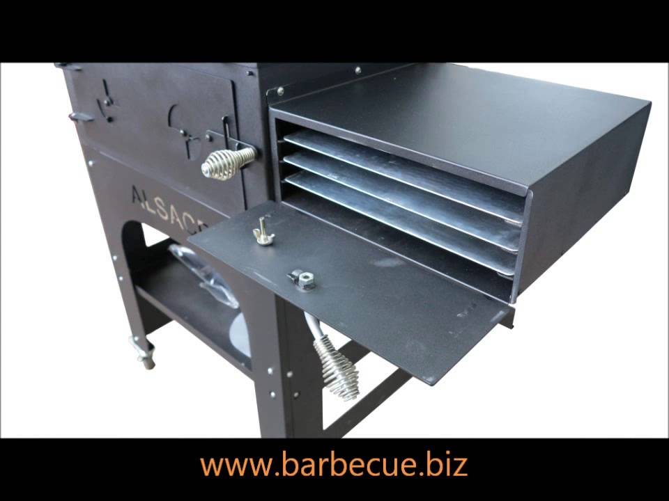barbecue four pizza multifonction vulcano youtube. Black Bedroom Furniture Sets. Home Design Ideas