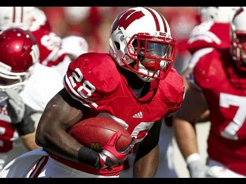 The Supreme Montee Ball Highlights (2013 Draft Pick 58th Pick - Denver Broncos)