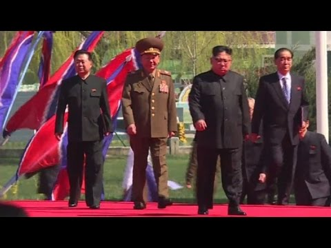 Thumbnail: Kim Jong-Un makes public appearance in Pyongyang