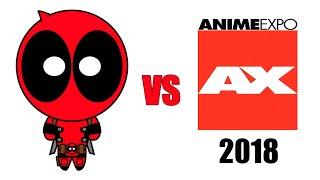 Deadpool vs Anime Expo 2018