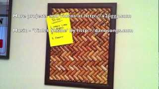 How-to: Wine Cork Board