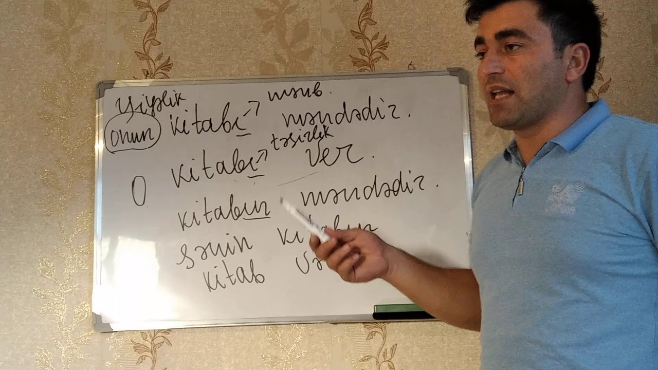 Azərbaycan Dili Dərs-1 (Fonetika)
