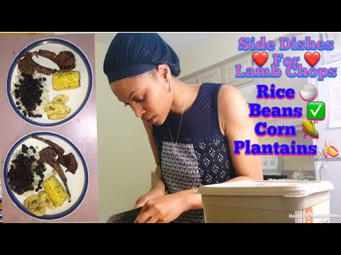 Cooking Side Dishes For Lamb Chops With Mrs Mwaura | Part 2