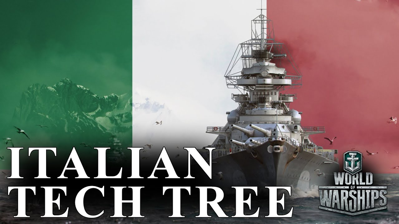 World of Warships Italian Tech Tree - Speculation, Historical Overview, and More ...