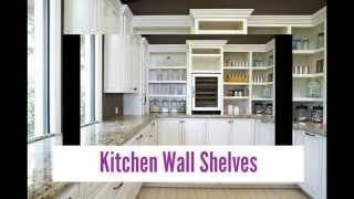 Designer Kitchen Wall Shelves