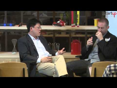Jong Lee (RGL Holdings Limited) at Startup Grind Hong Kong