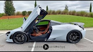 For Sale: 2018 McLaren 720S Coupe, Glacier White, Full Walk Around