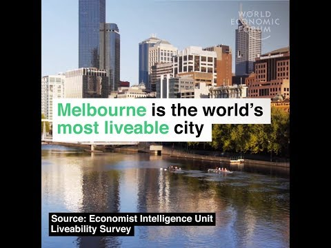 Melbourne is the world