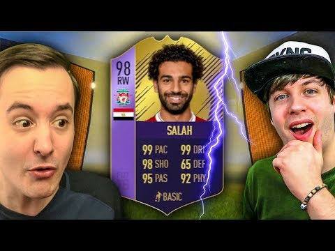 POTY SBC 98 SALAH IS AMAZING - FIFA 18 ULTIMATE TEAM PACK OPENING