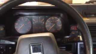 1987 Mazda 626 Start Up
