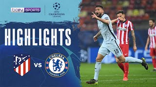 Atletico Madrid 0-1 Chelsea | Champions League 20/21 Match Highlights