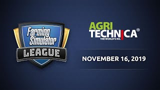 Farming Simulator League @ Agritechnica 2019