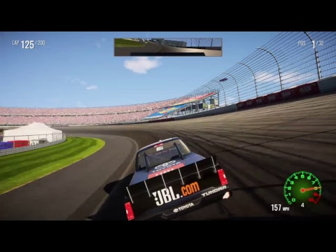 NASCAR HEAT 2 CHAMPIONSHIP MODE PART 6 BAR HARBOR 200 @ DOVER INTERNATIONAL SPEEDWAY