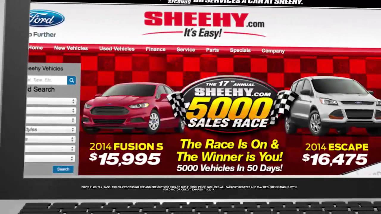 Sheehy ford richmond sheehy 5000 final days fusion escape