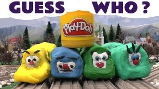 play doh surprise egg shapes guess the engines 4 thomas the tank play doh thomas tank kids toy