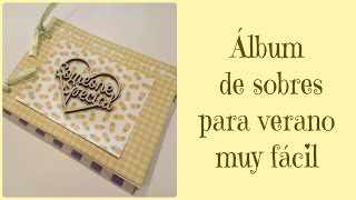 DIY Scrap: Mini album de sobres