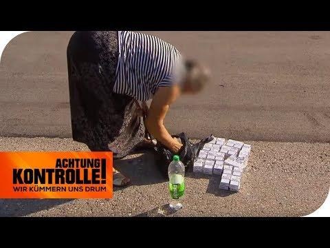 Oma schmuggelt 800 Zigaretten in Unterhosen: Zoll überrascht! | Achtung Kontrolle | kabel eins