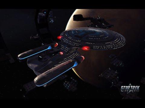 "STAR TREK ONLINE HD Galaxy Class Retrofit ""Crack In The Mirror"" (2014) 1080p"