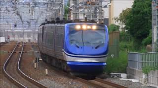 智頭急行 HOT7000系 特急スーパーはくと9号 増結6両編成@東海道本線・JR総持寺駅