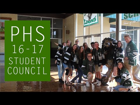 Payson High School Student Council Intro - 2016-2017