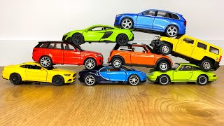Toy Car Crashes | Hot Wheels & Other Cars Video