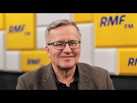 Bronisław Komorowski: Powinniśmy być zainteresowani jakąś formą pojednania polsko-rosyjskiego