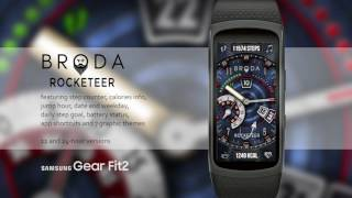 Broda Rocketeer for Samsung Gear Fit 2