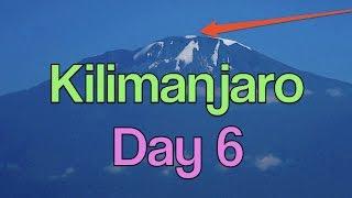 😄 2 LADIES 😄12 MEN 😄7 DAYS 😄 - HOLY GRAIL - UHURU PEAK - MT. KILIMANJARO - DAY 6 -