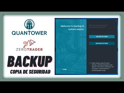 QUANTOWER / Administra tus copias de seguridad y restauración