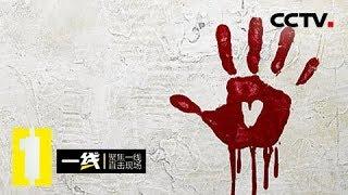 """《一线》一枚血手印/快餐店""""硕鼠"""":平静小区突发命案 手段残忍令人发指 20181008   CCTV社会与法"""