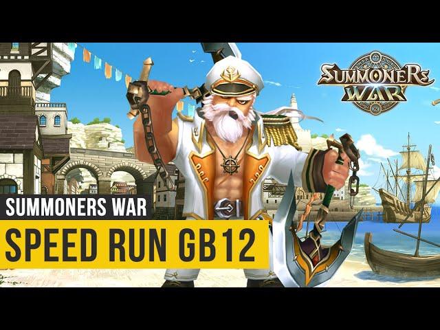 Speed Run GB12 - Conheça o Time Mais Usado - Summoners War