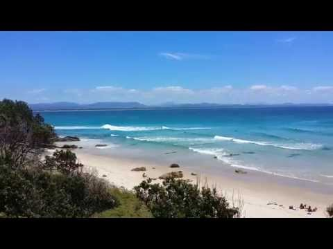 Amazing nature scenary BYRONBAY Australia NSW (1080p)