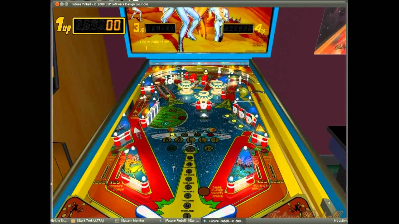 Future Pinball running in Ubuntu 10 10