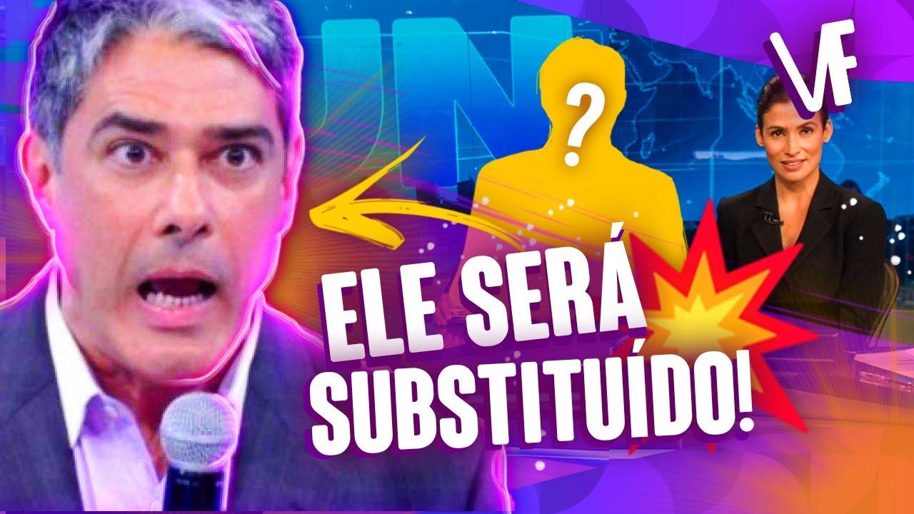 GLOBO TIRA WILLIAM BONNER DO JORNAL NACIONAL! SAIBA O MOTIVO! | Virou Festa