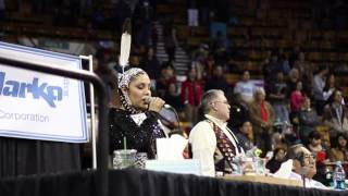 Gabrielle Knife - Denver March Powwow 2014 (a film by RWSE)