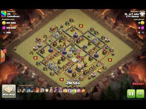 [CT4 Group vs ChinaRush] War Recap